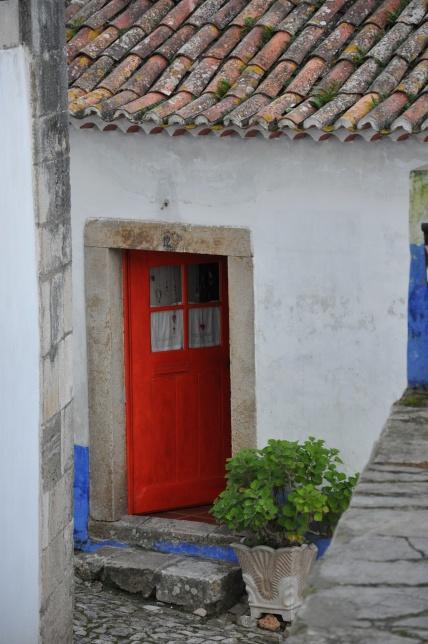 1125 - Porta rossa, Obidos