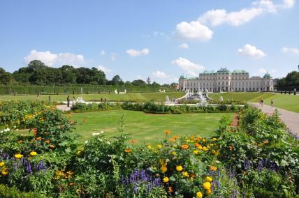 Schlöss Belvedere, Wien - Austria