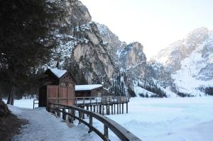 Lago di Braies, Italia - Marzo 2019